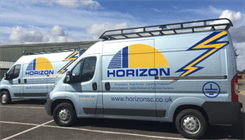 New van fleet arrive at Horizon headquarters