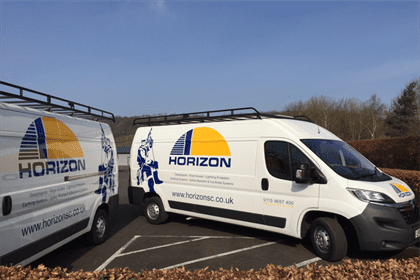 Horizon enhances it's green credentials with new van fleet