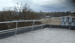 Freestanding Guardrail Installation
