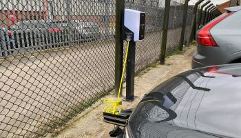 Electric charging points installed at Horizon head office